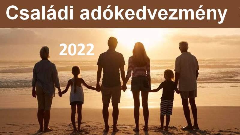 Családi adókedvezmény 2022