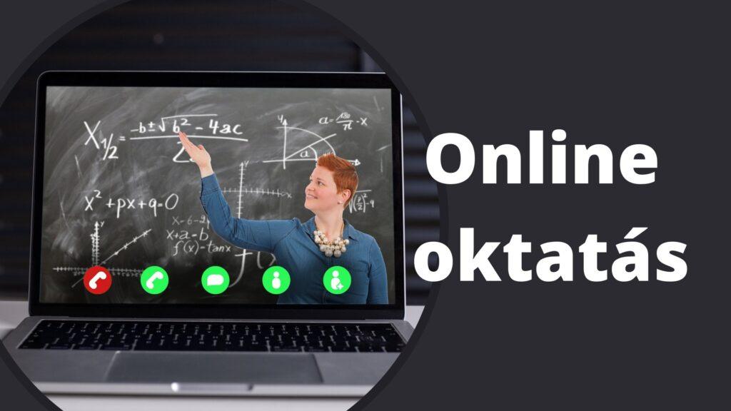 Online oktatás 2021